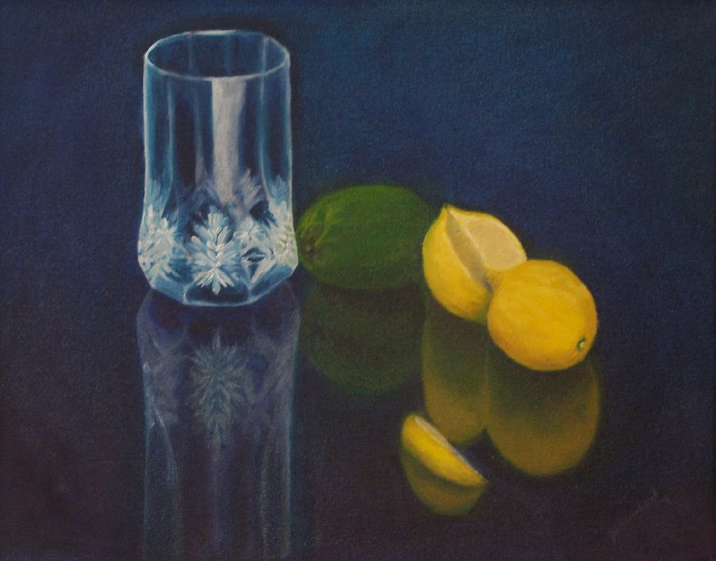 Citrus and Cut Glass